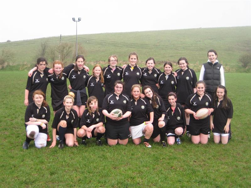 Girls Tag Rugby Team 2013