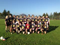 Girls Gaelic Team