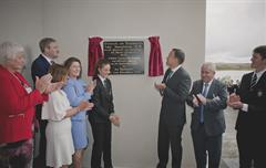 Taoiseach Officially Opens New School Building