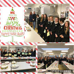 Christmas Cake Competition
