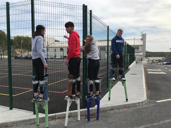 Stilt Walking & Circus Skills Workshop