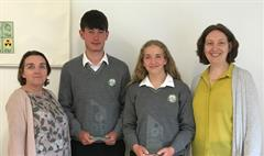 Transition Year Student Merit Award Winners