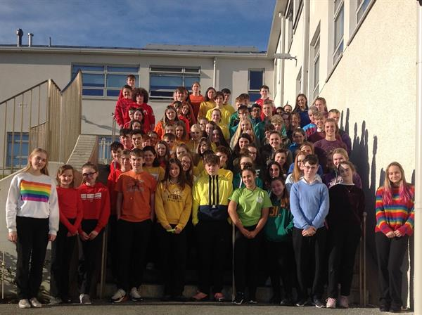 Clifden CS Stands Up Against ALL Bullying!!!