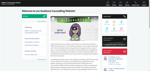 Clifden Community School Guidance Counselling