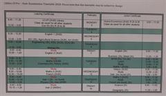 Clifden CS Pre – State Examination Timetable 2020.