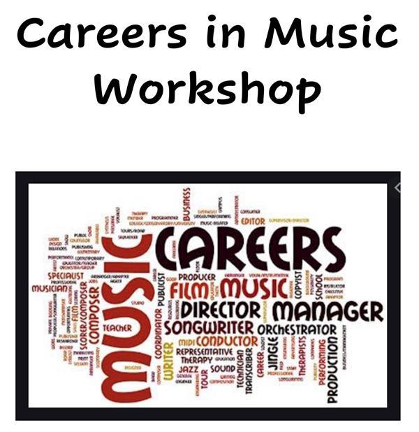 Careers in Music Workshop