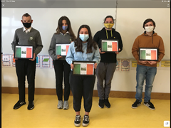 TY International Students return Home